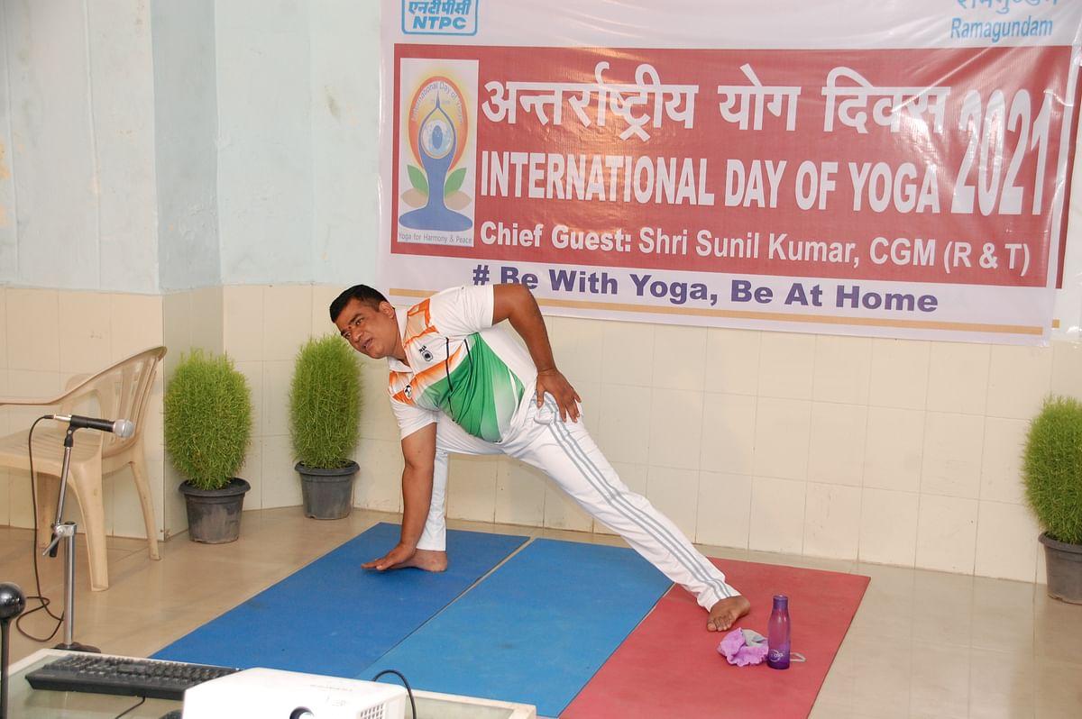 NTPC-Ramagundam observes International Yoga Day