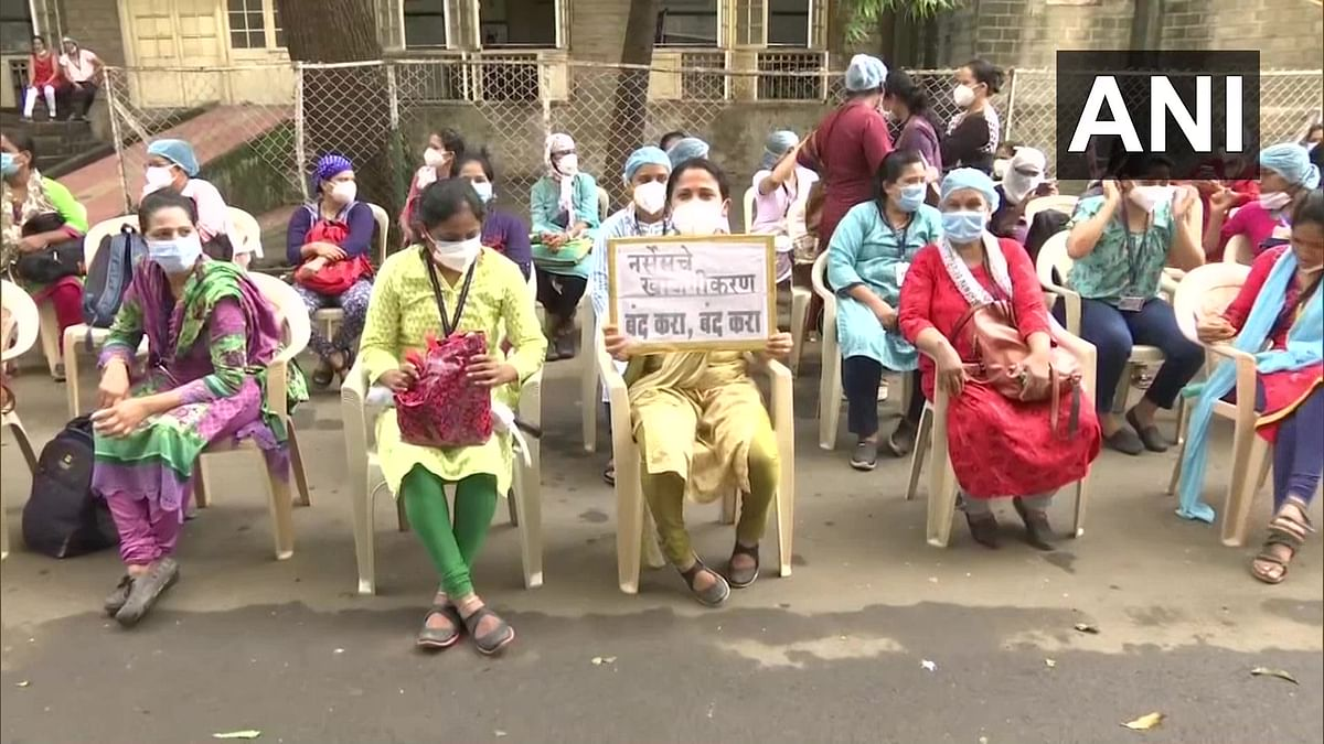 Maharashtra: Govt hospital nurses on 48-hr strike over pending demands