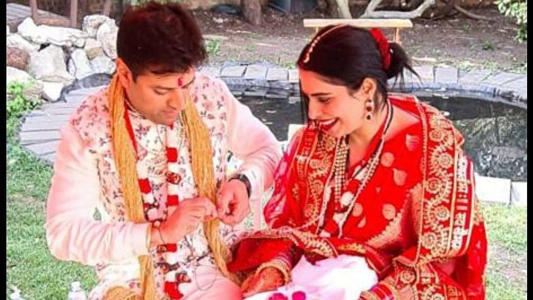 Priyanka Chopra's brother Siddharth's ex-fiancee Ishita Kumar ties the knot in London; see pics