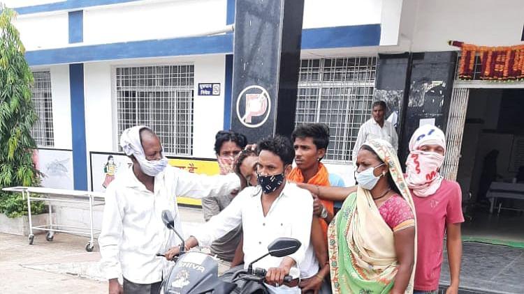 Mandla: Denied vehicle, son forced to ferry father's body on bike