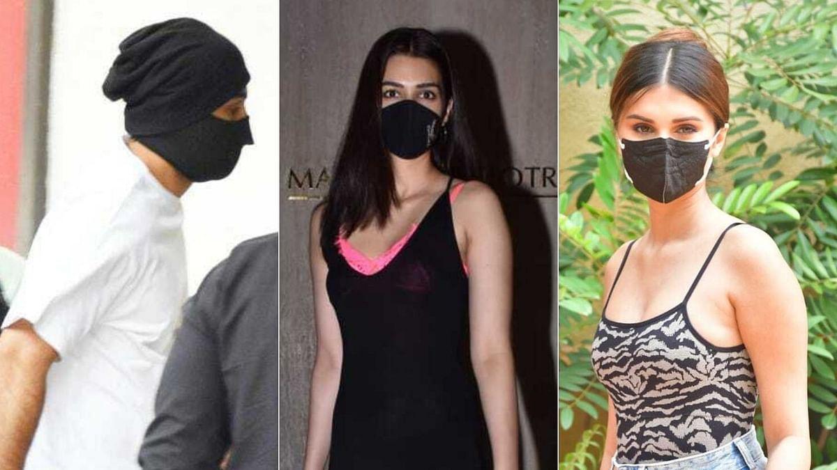 Paparazzi Pics: Ranbir Kapoor, Tara Sutaria, Kriti Sanon and other B-Town celebs spotted in Mumbai