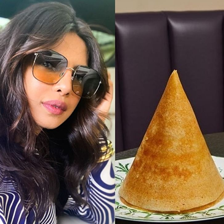 Desi girl Priyanka Chopra enjoys dosa, pakoras at her New York restaurant 'Sona'; see pics