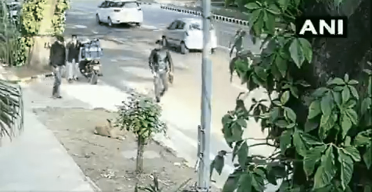 Israel Embassy blast: NIA releases video of 2 suspects captured on CCTV; announces reward of Rs 10 lakh each for identifying them