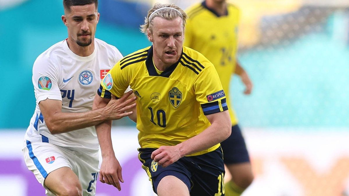 Euro 2020: Sweden almost through to last-16 after winning 1-0 against resilient Slovakia