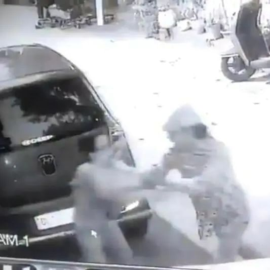 Delhi: CCTV footage shows woman being stabbed by neighbour; attacker arrested