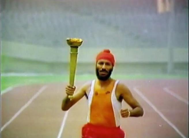 Milkha Singh in Freedom Run
