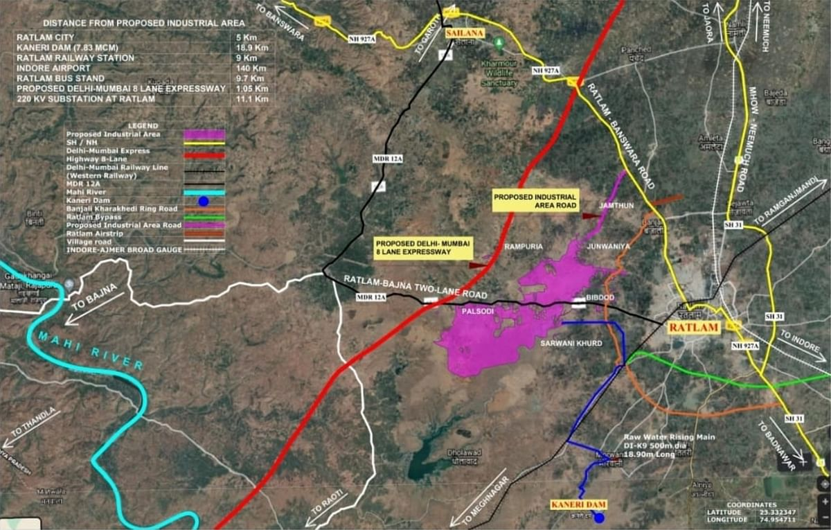 Ratlam: 1400 hectare land of six villages allocated for industrial and investment zone
