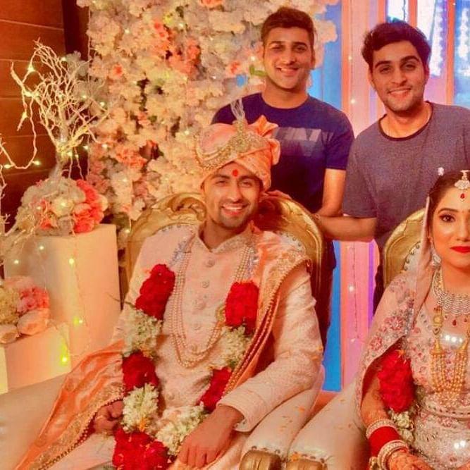 'Chhoti Sardarni' actor Ankit Gera ties the knot with Rashi Puri in Chandigarh