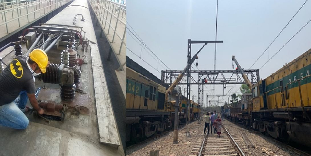 Railways conducts special maintenance & upkeep of EMU rakes, OHE & signalling system to brace the monsoons