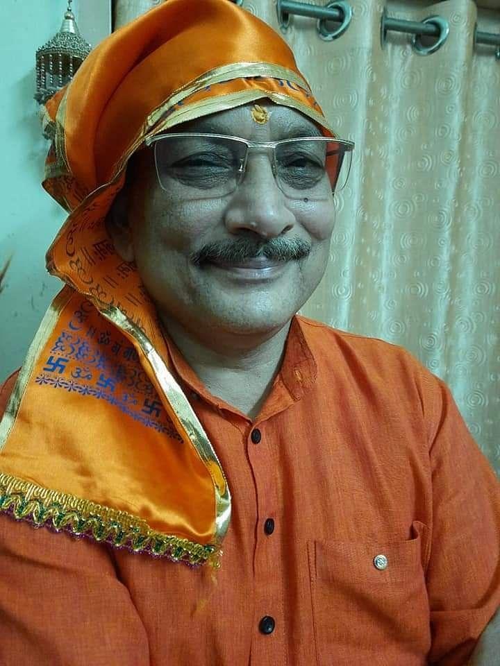 Ex-Bihar DGP becomes a sanyasi