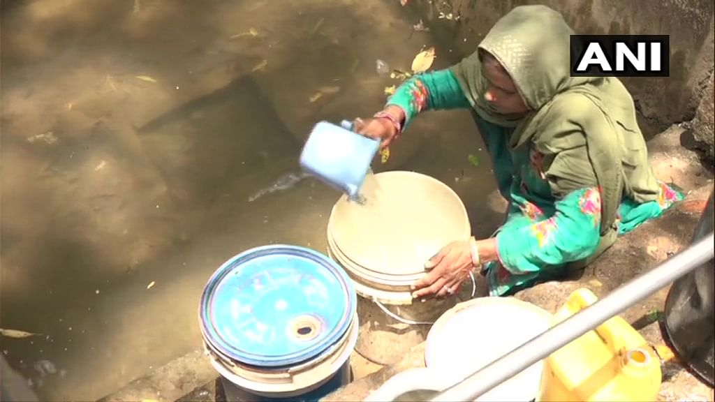 Locals in Darsoo village, Udhampur say they're forced to fetch contaminated drinking water from a pond as village faces acute water crisis