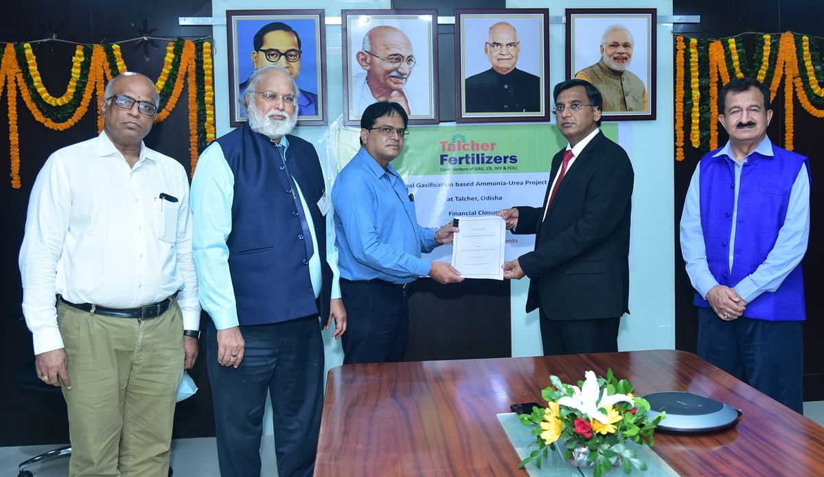 Talcher Fertilizers successfully concludes financial closure of its coal gasification based urea project