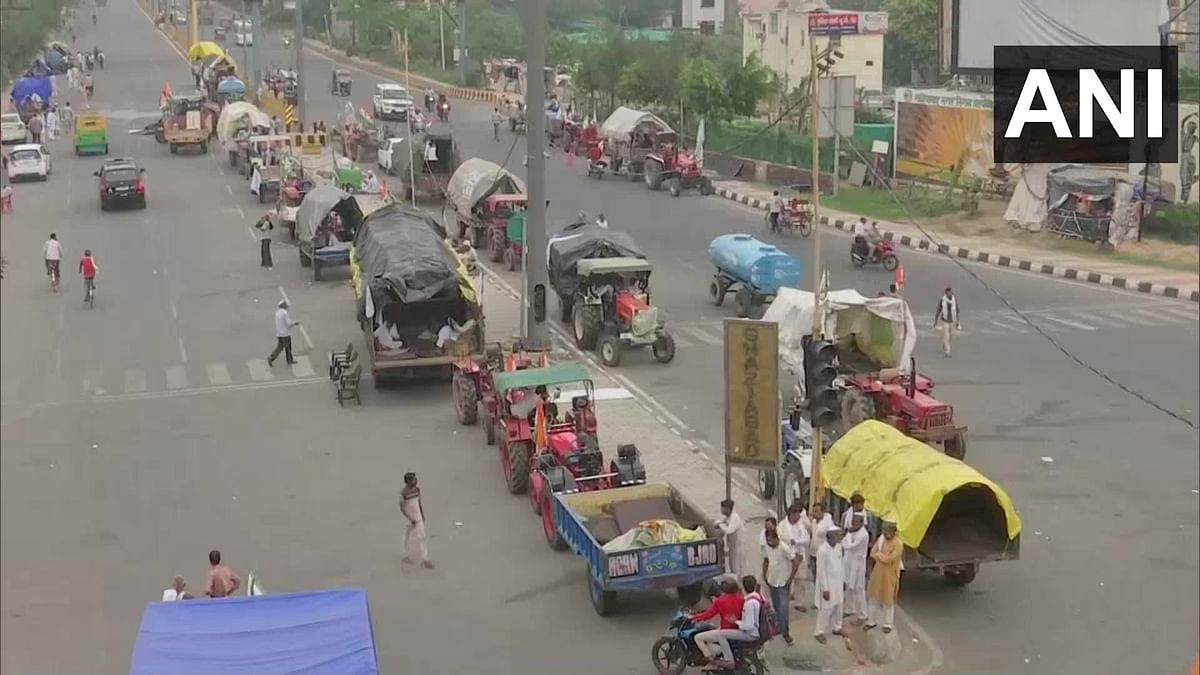 Farmers mark seven months of protest with tractor rally in Delhi; to submit memo to Governors across country