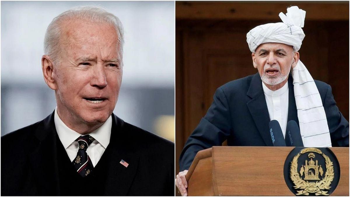 Joe Biden to meet Ashraf Ghani at White House amid pullout