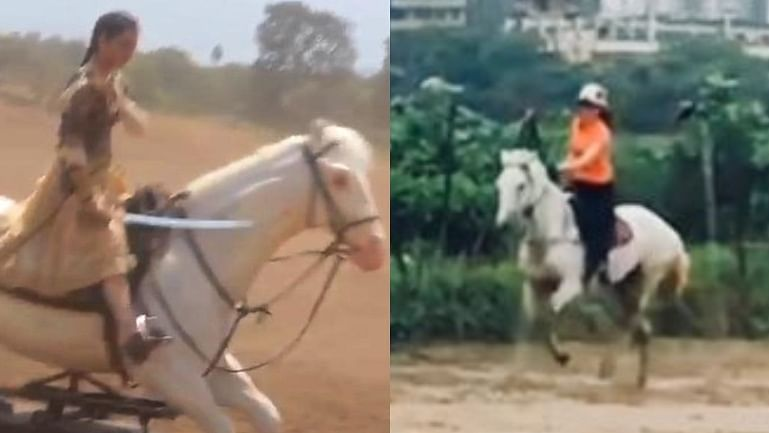 Watch: Kangana Ranaut goes horseback riding; netizens say 'should've learnt before Manikarnika'