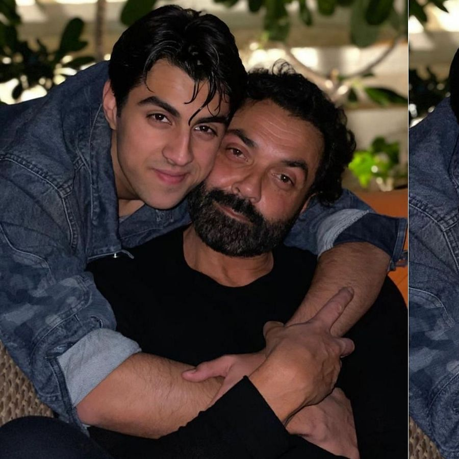 Bobby Deol wishes son Aryaman on 20th birthday with heartwarming pics; Twinkle Khanna calls him 'stunner'