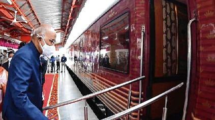 Prez Kovind embarks on train journey to his birthplace