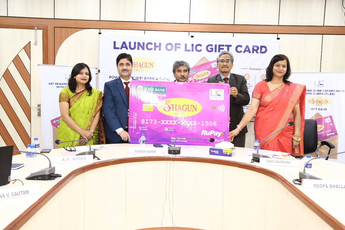 LIC Cards Services launches gift card – 'SHAGUN' powered by IDBI bank on Rupay platform