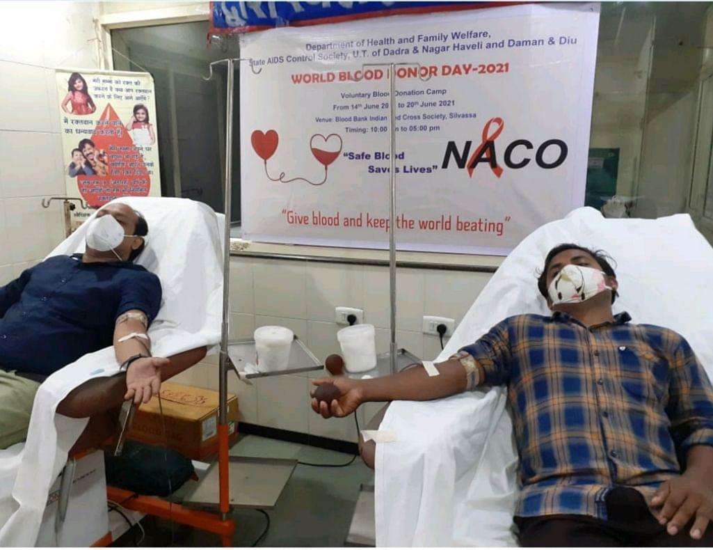 UT of Dadra and Nagar Haveli and Daman and Diu celebrate World Blood Donation Day