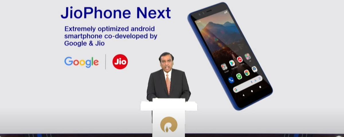 Reliance AGM 2021: RIL-Google's JioPhone Next will be available from Sep 10 this year, says Mukesh Ambani
