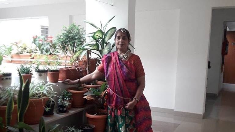 Rupa Ramamurthy's garden space
