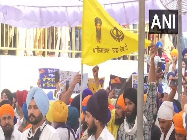 Khalistani flags, posters in Golden Temple on Operation Blue Star's 37th anniversary