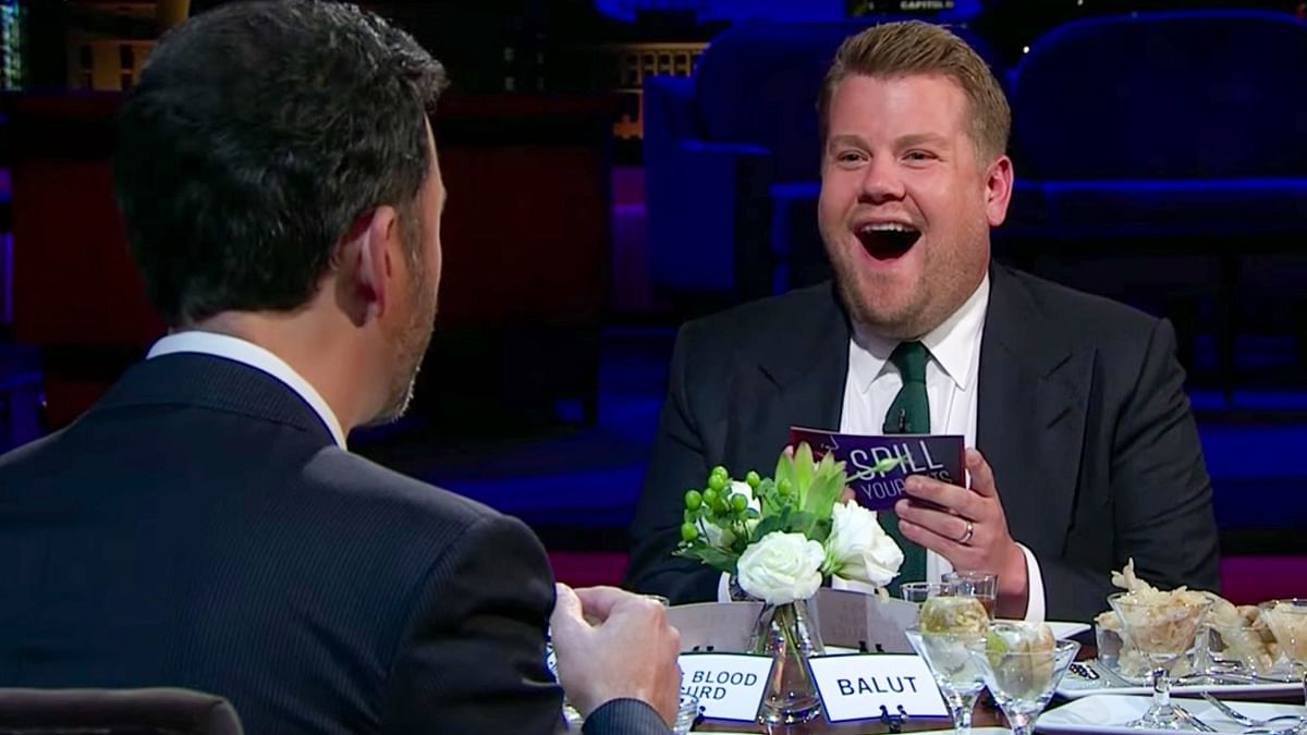 'Bull p***s, pig blood curd': James Corden faces backlash for mocking Asian foods on his TV show