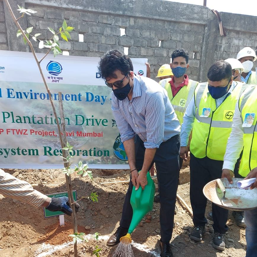 JNPT celebrates World Environment Day 2021