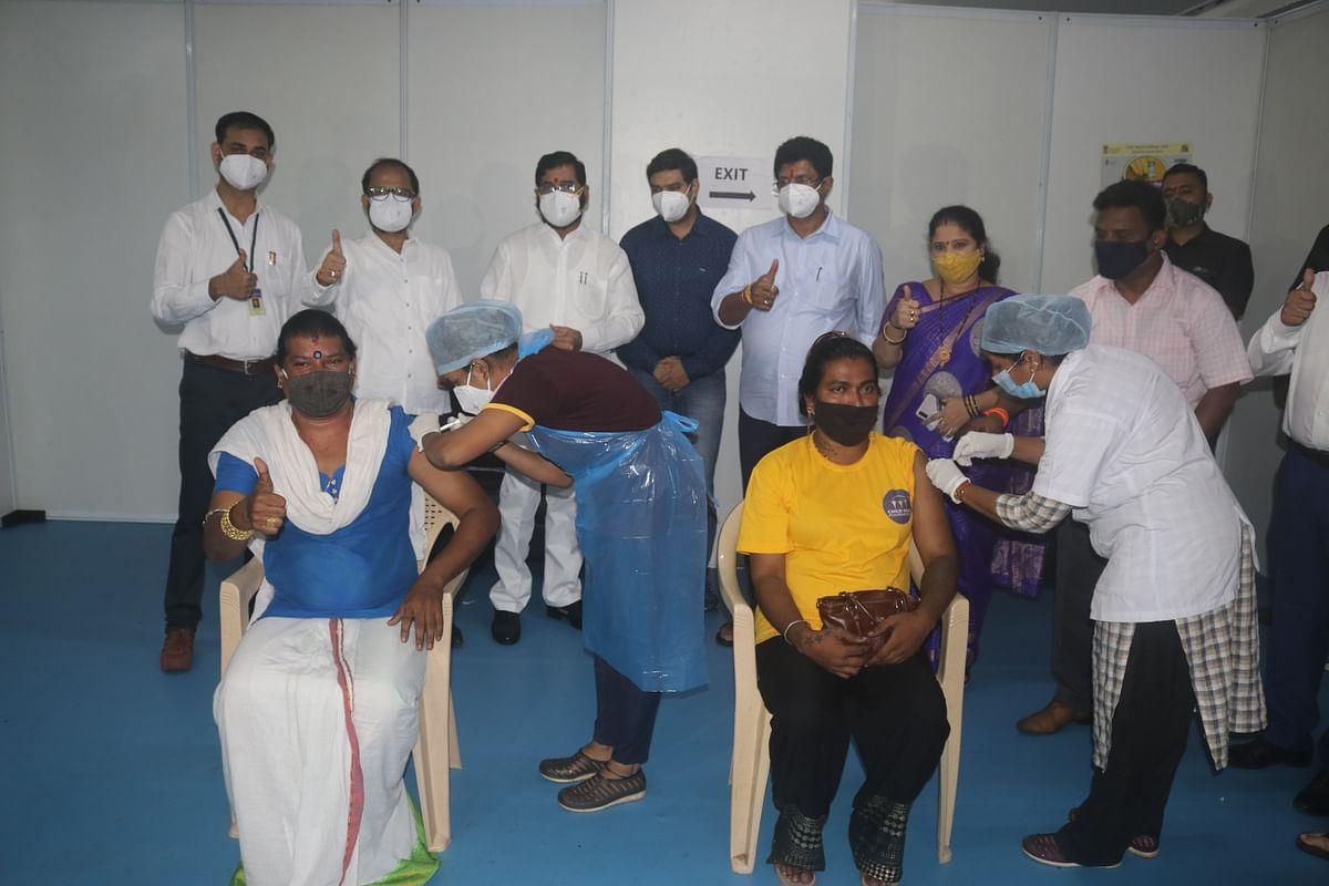 Thane: TMC organised COVID-19 vaccination drive for transgender community; 16 take jab