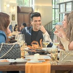 Karan Johar reveals he came up with the idea of 'Fabulous Lives' while going to a 'chautha'