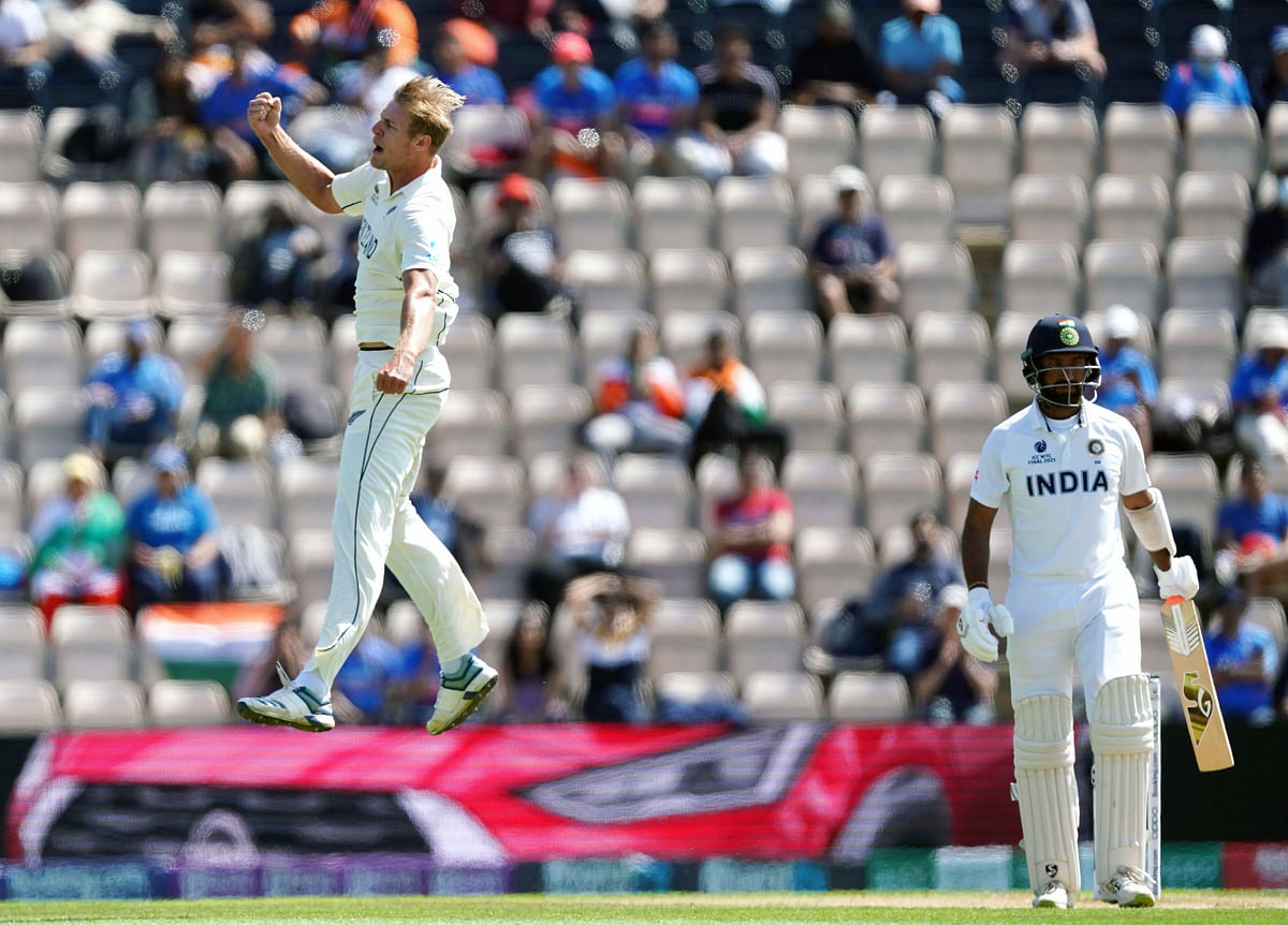 WTC final Ind vs NZ: Kohli on the verge of losing yet another ICC Final as Southee, Jamieson, Boult and Wagner bundle India out for 170