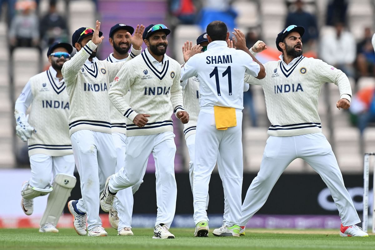 WTC Finals: Shami, Sharma sizzle; Account for 7 wickets between them as India skittle Kiwis for 249