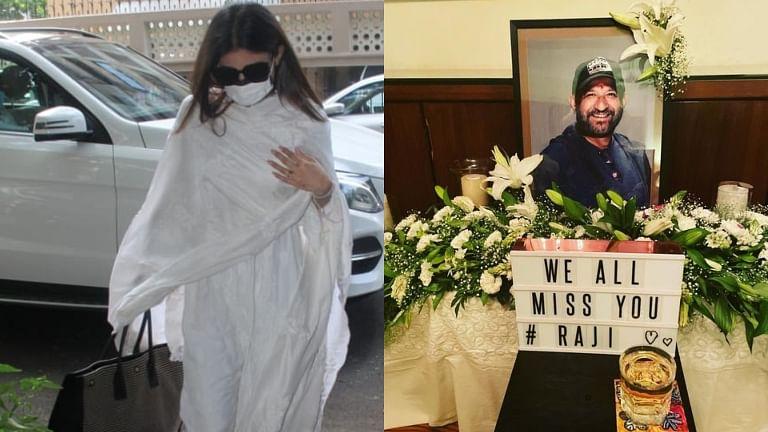 Mouni Roy shares pic from Mandira Bedi's husband Raj Kaushal's prayer meet, pays emotional tribute