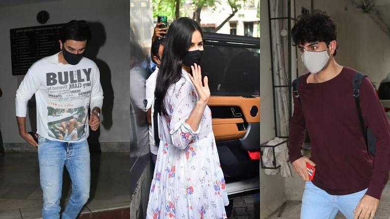 What's cooking? Ranbir Kapoor, Ibrahim Ali Khan spotted at Dharma office; Katrina Kaif, Arjun Kapoor at Ramesh Taurani's office