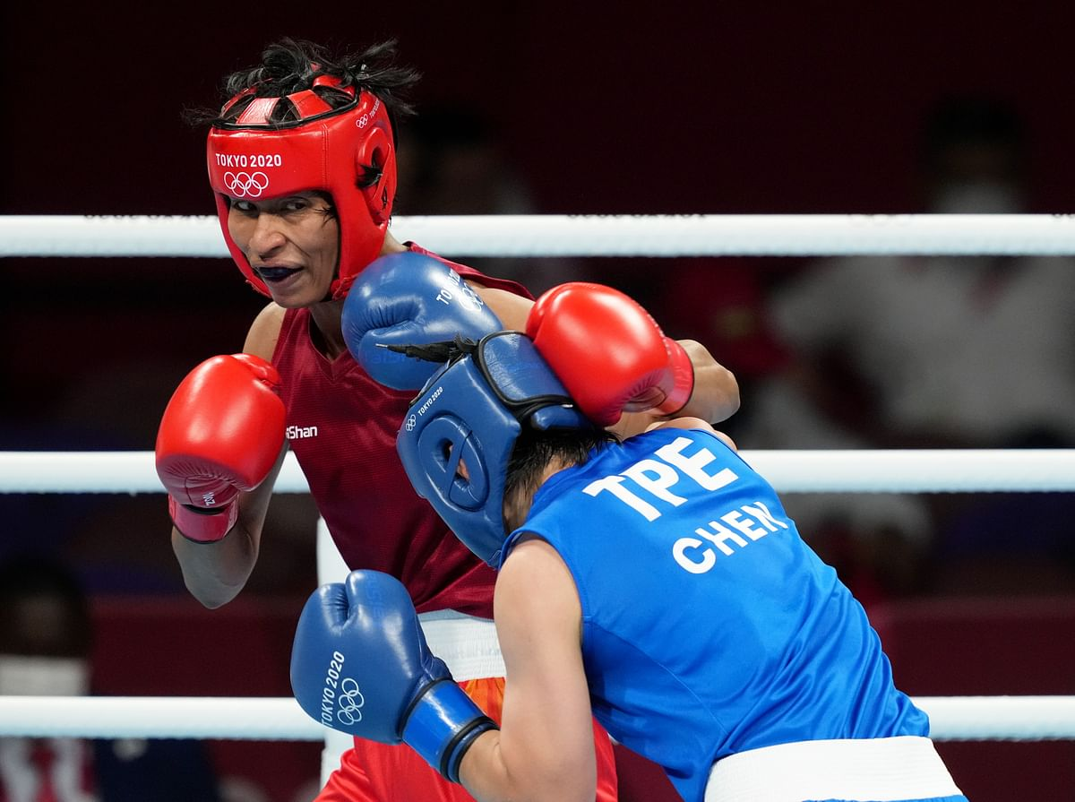Watch Video | Boxer Lovlina Borgohain's native Sarupathar in Assam erupts in joy as she assures India of Olympic medal