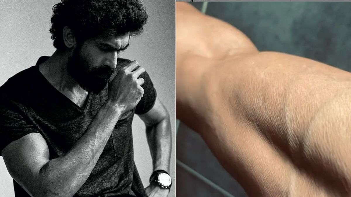 Watch: Rana Daggubati flaunts his toned biceps in new workout video; Shruti Haasan reacts