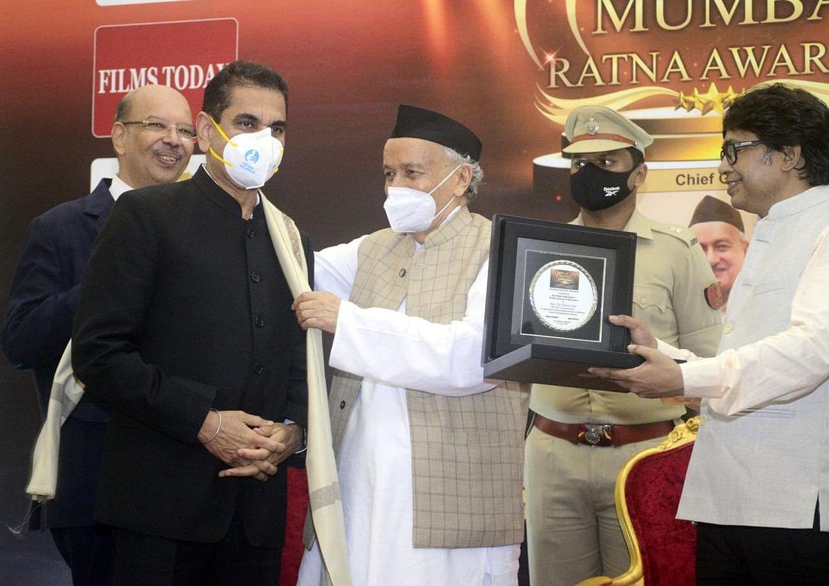 BMC Commissioner Iqbal Singh Chahal awarded 'Mumbai Ratna'
