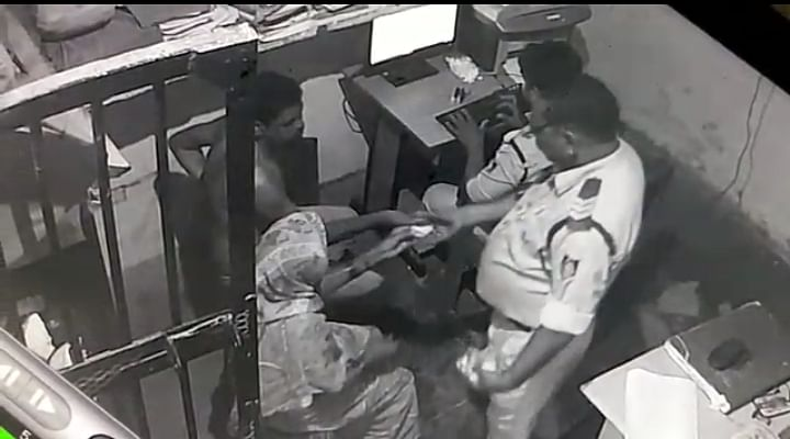 Head constable suspended for taking dough as bribe from woman