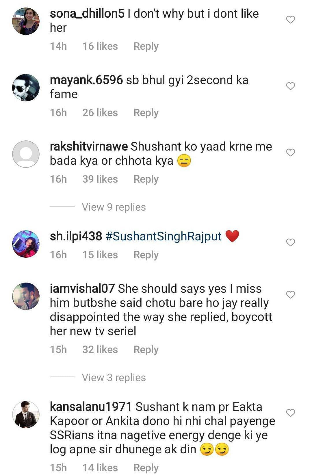 Watch: Ankita Lokhande trolled for saying 'grow up' on being asked about Sushant Singh Rajput