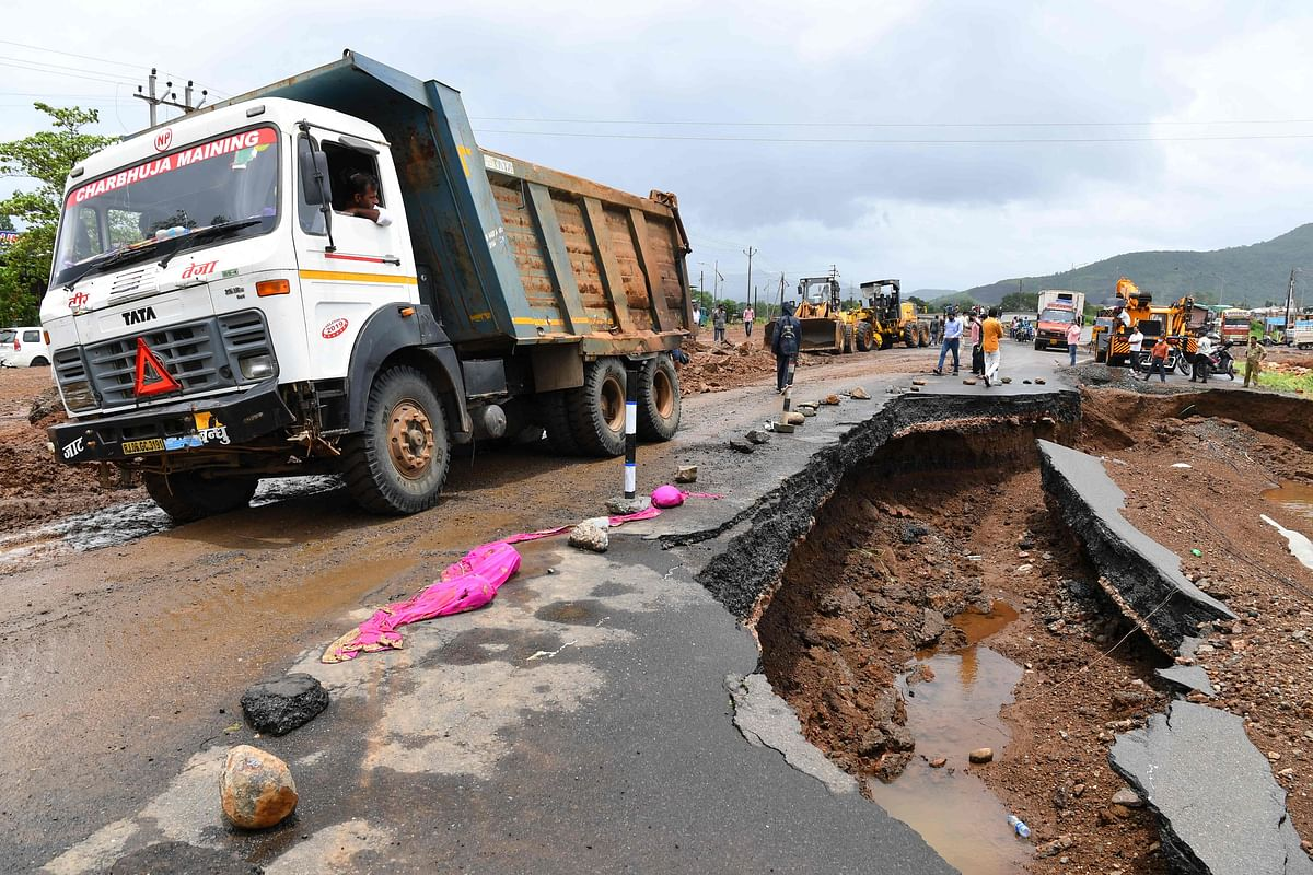 Maharashtra rain fury: Road infrastructure suffered Rs 1,800-crore loss in floods, says PWD minister Ashok Chavan