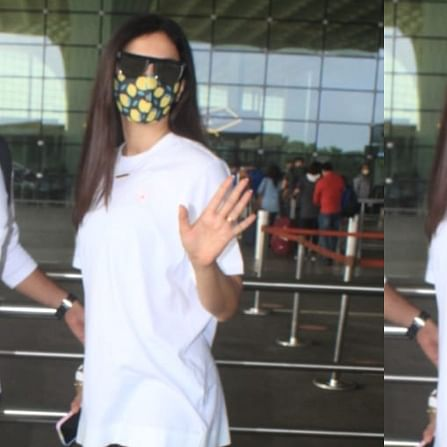 'Giving gyaan after breaking protocol': Gauahar Khan schools paparazzo who asked her to remove mask; gets trolled