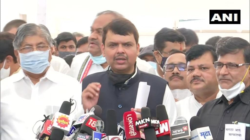 'State govt is just doing time pass': Devendra Fadnavis reacts after govt passes resolution on OBC's empirical data