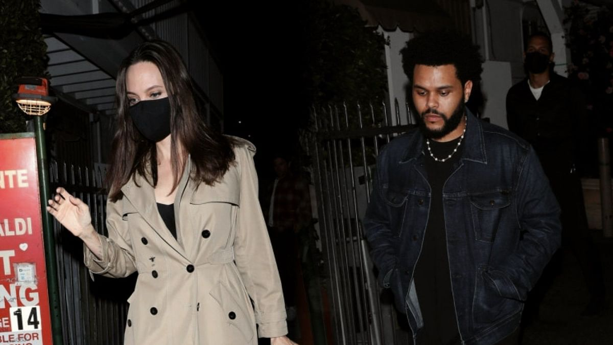 Angelina Jolie, 46, dating 31-yr-old singer The Weeknd? Duo spark romance rumours post-dinner date in LA