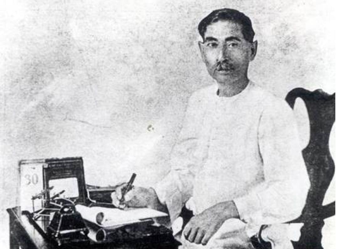 Munshi Premchand (July 31, 1880-October 8, 1936)