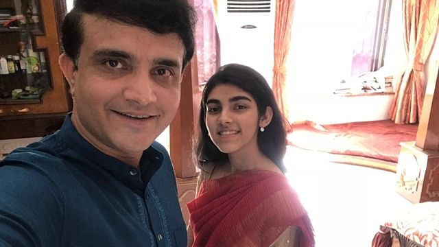 Sourav Ganguly Birthday Special: Doting dad's adorable moment with daughter Sana