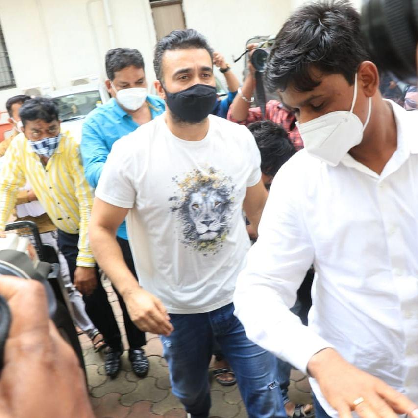 In Pics: Raj Kundra remanded in police custody till July 23 in porn racket case