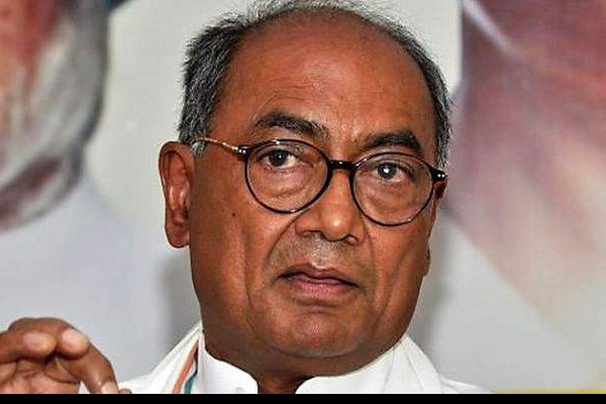 Indore: Talks stalled as Pakistan providing protection to terrorists, says Digvijaya Singh over Imran Khan's comment on RSS