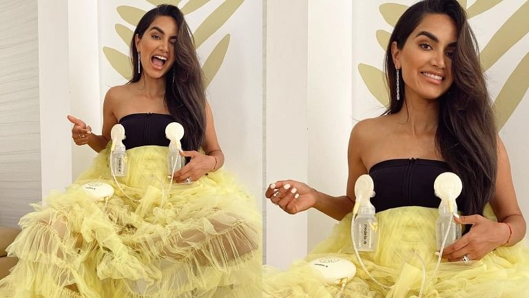 Why did Instagram influencer Diipa Buller-Khosla wear breast pumps at Cannes 2021?
