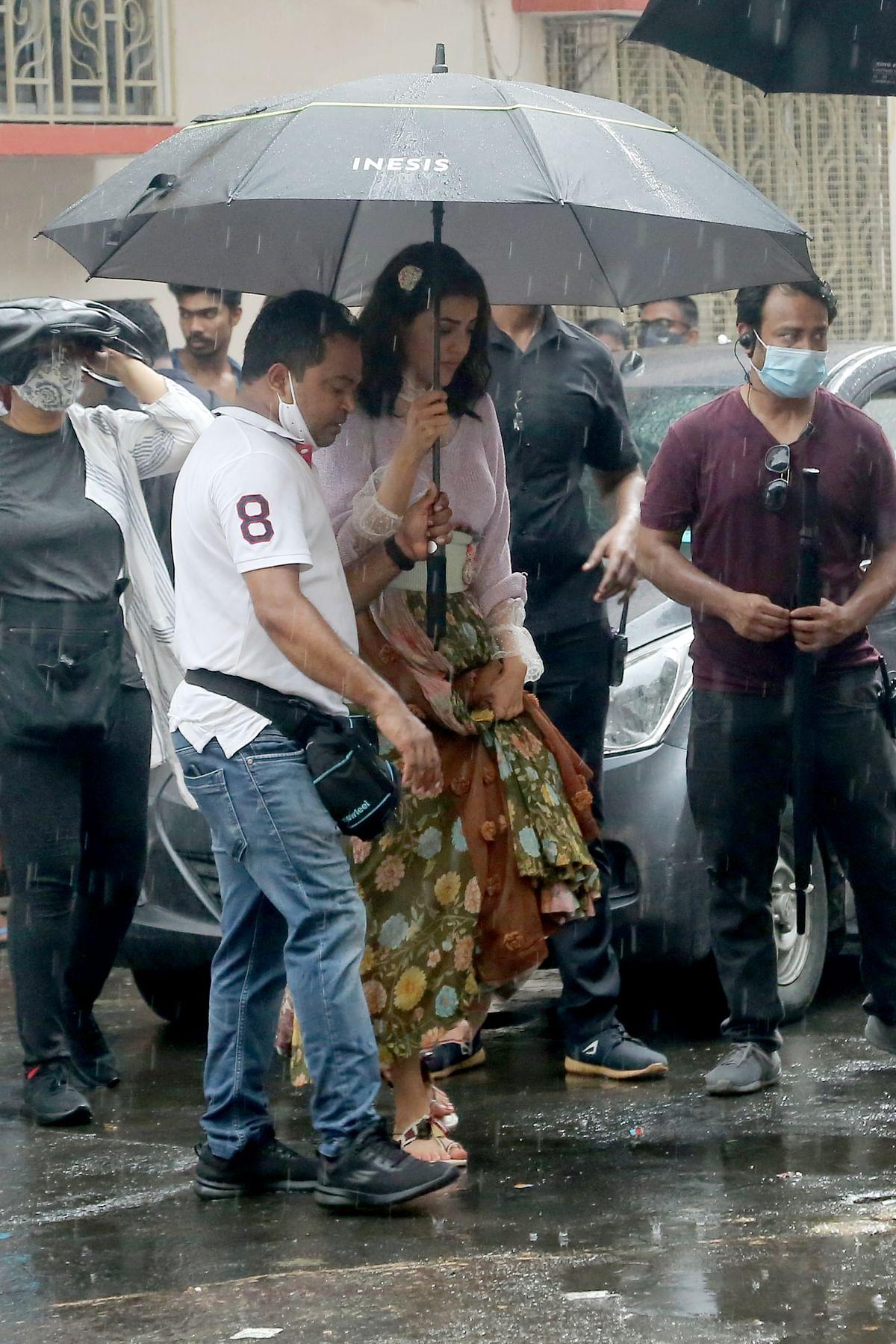 FPJ Exclusive: Kajal Aggarwal begins shooting for 'Uma' in Kolkata - see pics