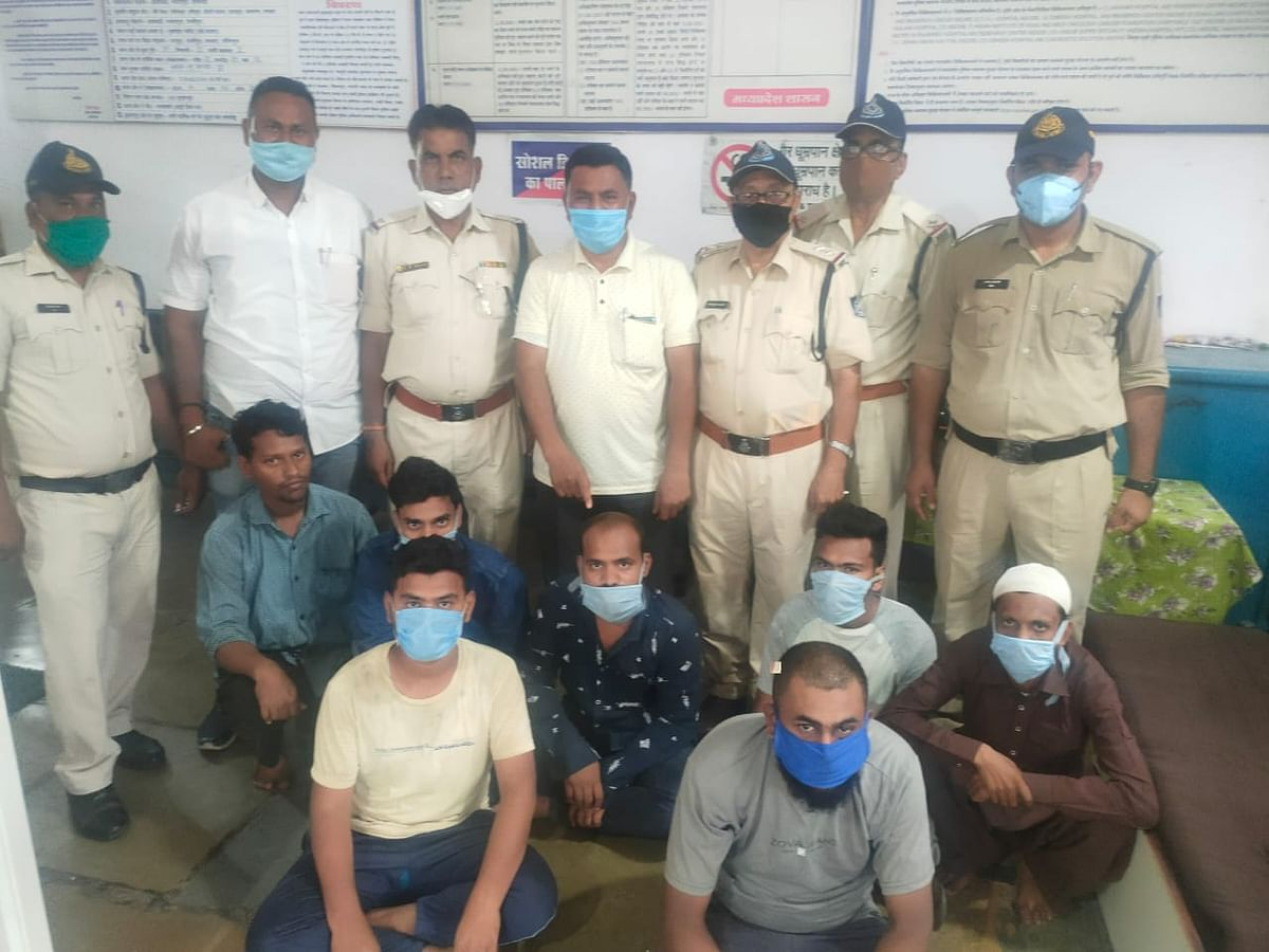 Burhanpur: 7 arrested for defrauding people on pretext of doubling their money through business firms